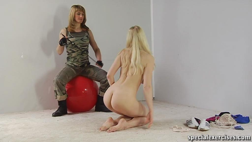Naked Women Training 51