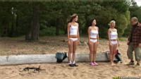 oudoor nude gymnastics